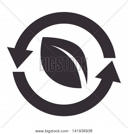 recycle reduce reuse , isolated flat icon design