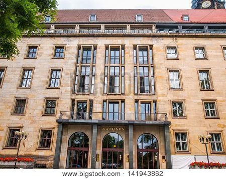 Dresden Rathaus Hdr