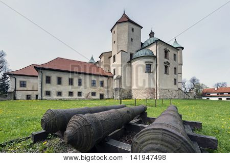 Nowy Wisnicz castle castle is the largest preserved baroque defence residence in Poland