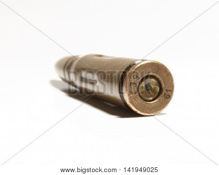 live ammunition from weapons up to the armed forces