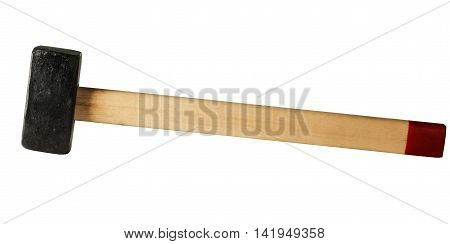 new small sledge hammer with wooden handle