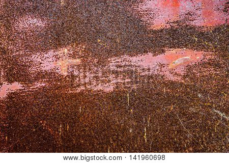 Rusted metal background texture
