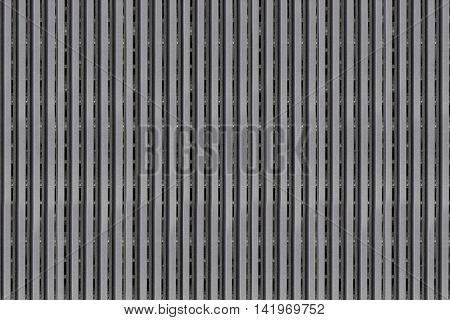 surface of Black plastic sieve for the design background.