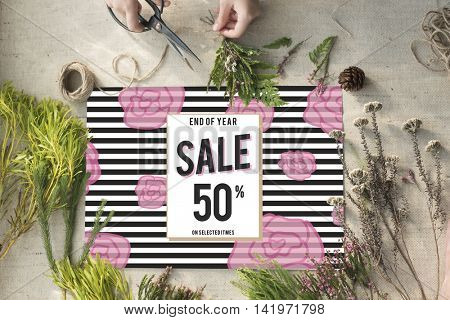 Sale Discount Shopping Shopaholics Promotion Concept