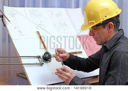 Young Male Engineer - Quality Inspector