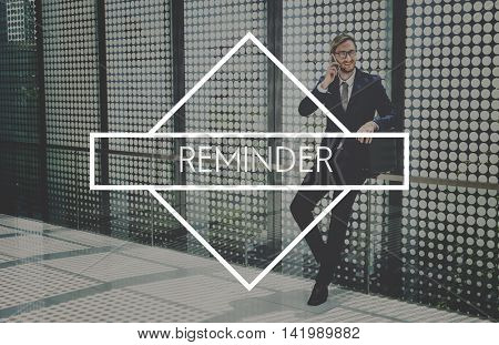 Reminder Attention Memory Message Recall Agenda Concept