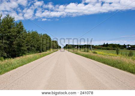 Camino de ripio