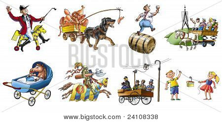 Various transport