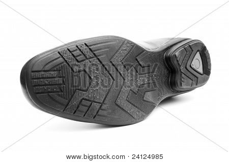 Bottom Of The Black Man's Shoe