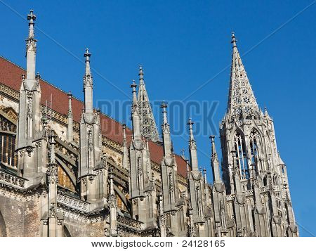 Ulm Minster (ulmer Muenster), Germany