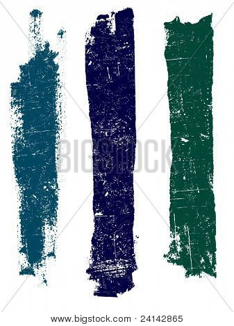 Grunge elements - Grunge Lines 4 - Highly Detailed vector grunge elements