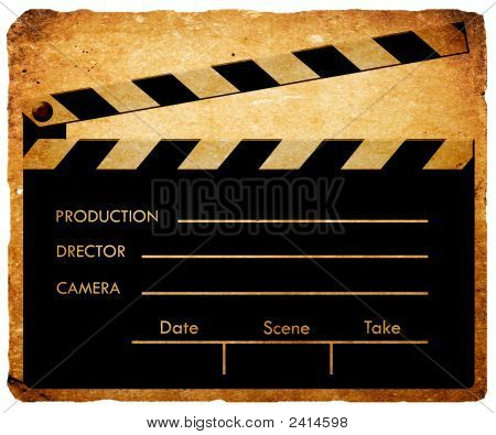 Film Clap Board