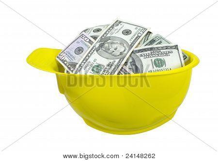 Hard Hat Full Of Money