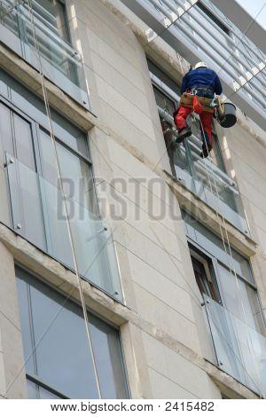 Lavado de ventana externa