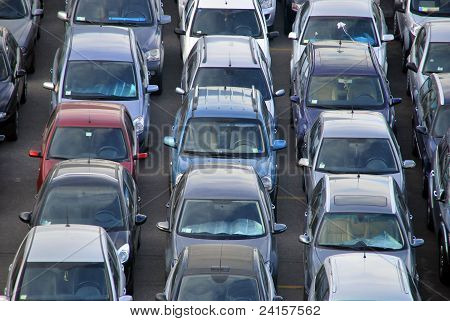 Many Cars Parked