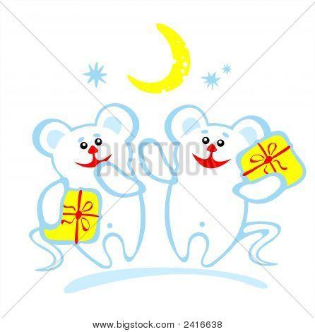 Two Amusing Mice