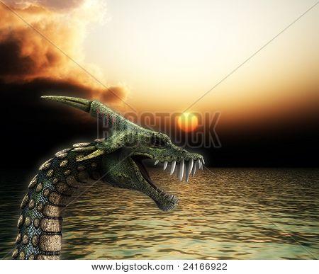 Sea Snake Monster