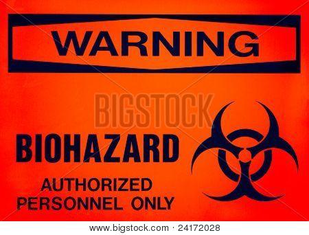 Warning Sign, Biohazard