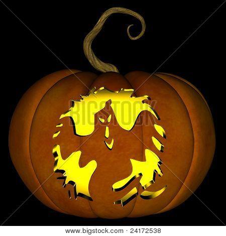 Halloween Jack O Lantern 08