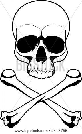Schädel Symbol Gefahr