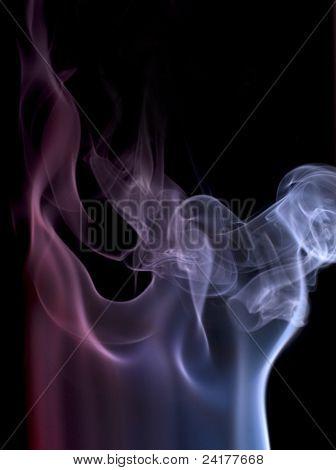 Colorful Smoke Detail