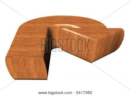 3D, Arrow In Wood