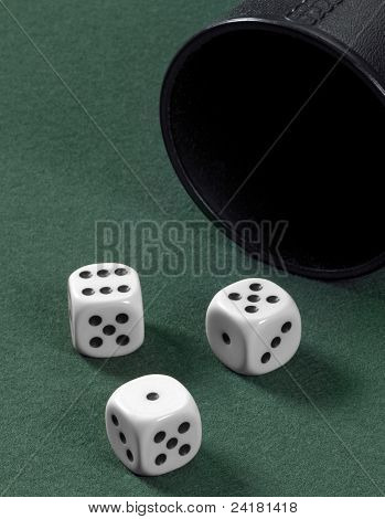 Dice And Cup