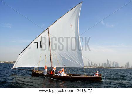 Dhow Sailing In Dubai