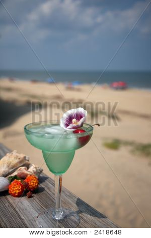 Margharita On The Beach