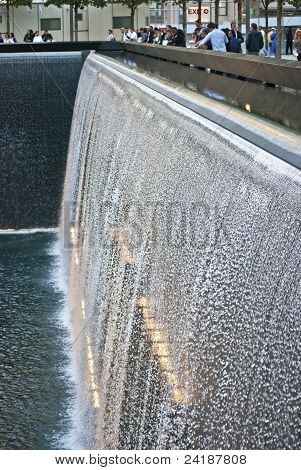 Memorial Waterfall