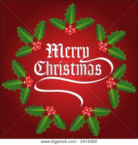 Christmas Holly-0711214.Eps