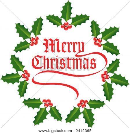 Christmas Holly-0711213.Eps