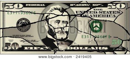 Cracked  50 Dollar-0711291.Eps