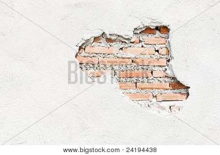 White Walls Which Cracked