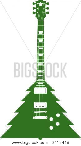 Christmas Guitar-.Eps