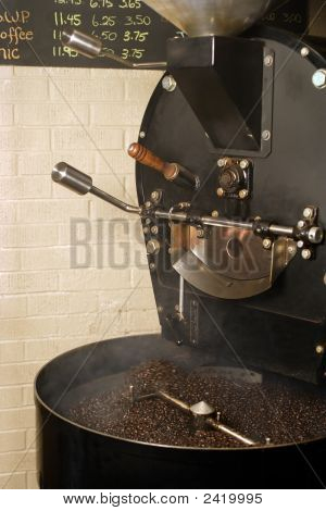 Coffee Roaster Cooling