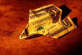 Folded Dollar