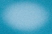 Texture Of Granite Light Blue Color With Small Dots, With Vignetting. poster
