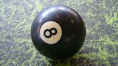 Pool Ball - Number 8