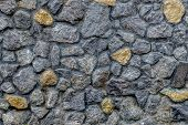 Texture Of An Old Masonry. Masonry Wall. For Design And Creativity poster