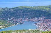 image of luka  - Vela Luka is a small town on the Adriatic Sea - JPG