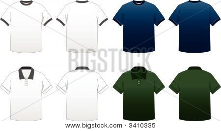 Men'S T-Shirt Templates-Series