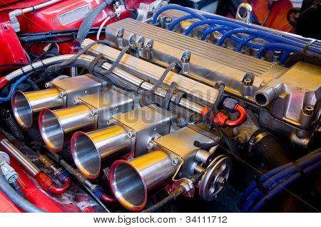 Classic Dohc Racing Engine