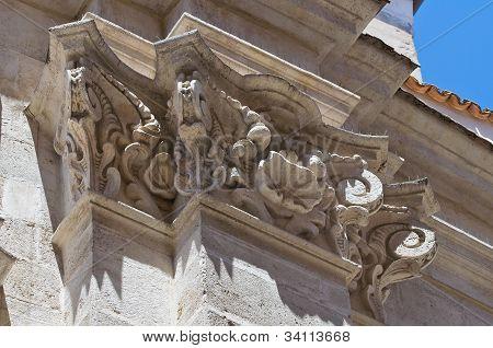 Church of Purgatory. Barletta. Puglia. Italy.