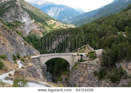 Briancon, France. Pont d'Asfeld.