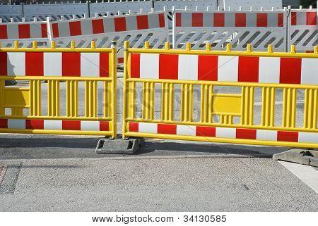 Barreira pedonal