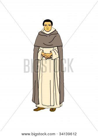 Dominican Monk.