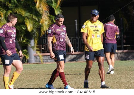 Brisbane Broncos Training