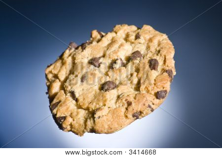 Chocolate Chip Cookie Floating