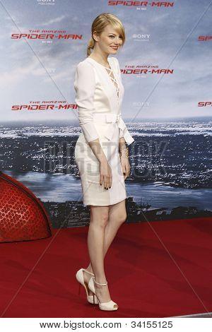 BERLIN - JUN 20: Emma Stone at the premiere of